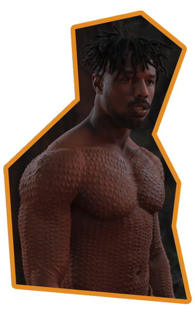 Black Panther - Michael B. Jordan als Killmonger