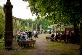 Maifeiertag in Magdeburg |  Stadtpark Rotehorn