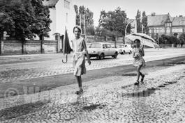 Magdeburg 1989  |  Albert-Vater-Straße |  auf den Dächern