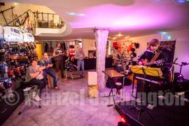 Eröffnunsparty Music Center Struwe mit Fenestra Temporis