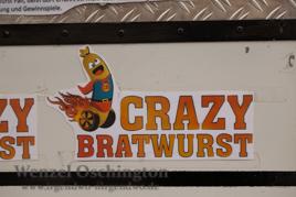 Crazy Bratwurst  -  Stefan Graefe und sein mobiler Bratwurststand