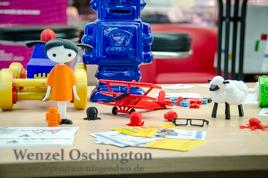 TinkerToys  -  Spielzeug mit Hilfe von 3D-Druckern zum Leben erwecken
