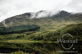 Wasserrspiegelung /  Loch Dorchart