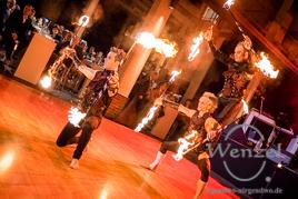 Winterzauber-Gala 2015 / Feuershow der  Flugträumer