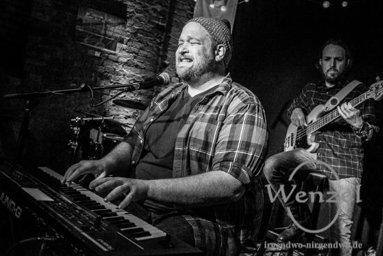 Luke Wesley  -  Konzert im  bluenote / Magdeburg