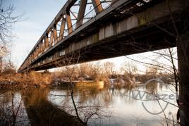 Eisenbahnbrücke über die Elbe