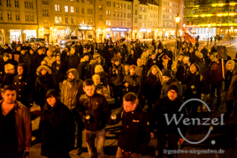 MAGIDA vs. NO MAGIDA  –  Magdeburg demonstriert  –  16. 2.2015