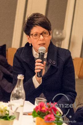OB-Kandidat Edwina Koch-Kupfer  –  CDU