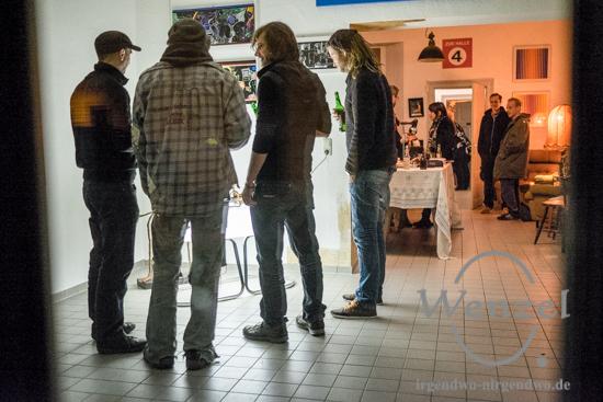 Künstlerstammtisch - L.A.N  Local Artists Netwörk - Konsortium Buckau