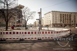 City-Tunnel Magdeburg - Baustelle der neuen Haltestelle