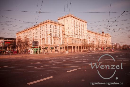 Allee Center - Magdeburger Innenstadt wegen Bombenentschärfung evakuiert