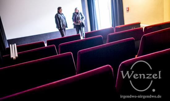 """Blick in den Kinosaal """"Stall"""" im Moritzhof Magdeburg"""