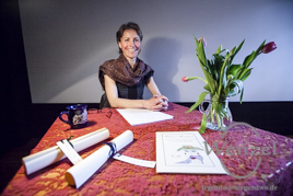 erotisch, sinnlich und humorvoll -   Eleonore Morgenrot liest Gedichte