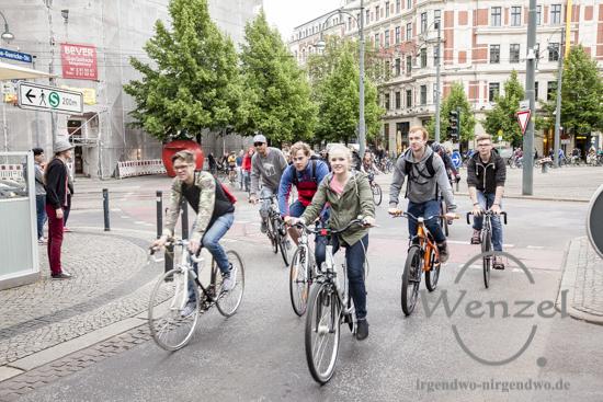Fahrradfahrer: Wir behindern nicht den Verkehr - wir sind der Verkehr!