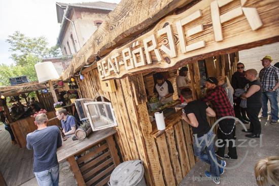Datsche / Buckau - Eröffnungsbumms 2015