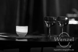 Two White Cranes - Volksbad Buckau