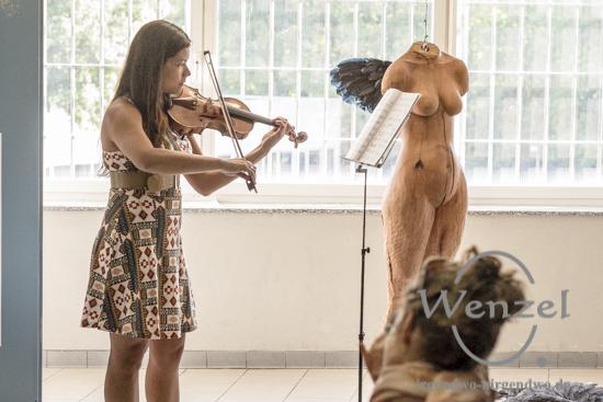 Samara Freitas –  Sonate Nr.2 für Violine solo opus 95 von Mieczyslaw Weinberg