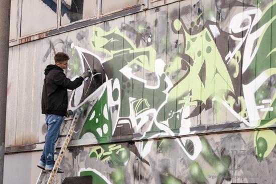Meeting of Styles - Streetart-Künstler in der Aerosol-Arena