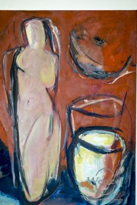 Michael Kott - Öl auf Leinwand