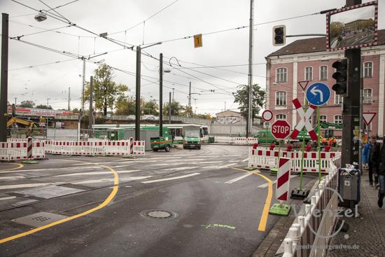 Baustelle City-Tunnel Magdeburg Oktober 2015
