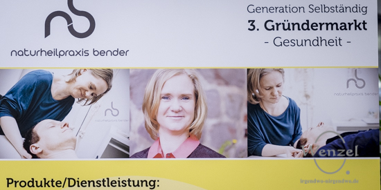Naturheilpraxis Bender -  Gründermarkt Magdeburg 2015