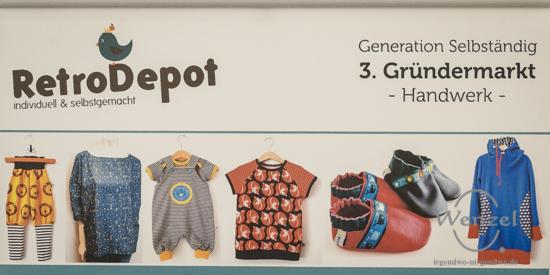 RetroDepot - individuell & selbstgemacht - Gründermarkt Magdeburg 2015