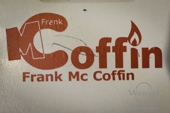 Studio Richtfest bei Frank Mc Coffin