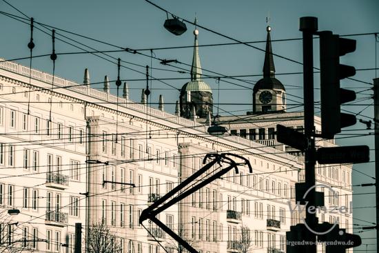 Unterwegs in Magdeburg - Januar 2016 - Ernst-Reuter-Allee / Stalinbauten