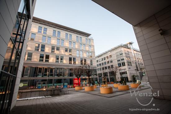 City Carré - Durchblick - Blickwinkel Magdeburg