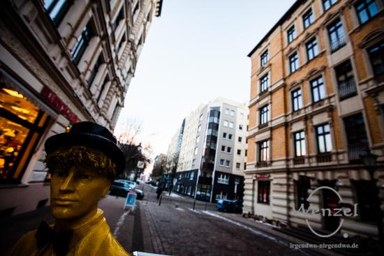 Einsteinstraße - Blickwinkel Magdeburg