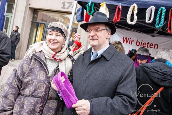 Gabriele Herbst & Ministerpräsident Dr. Reiner Haseloff