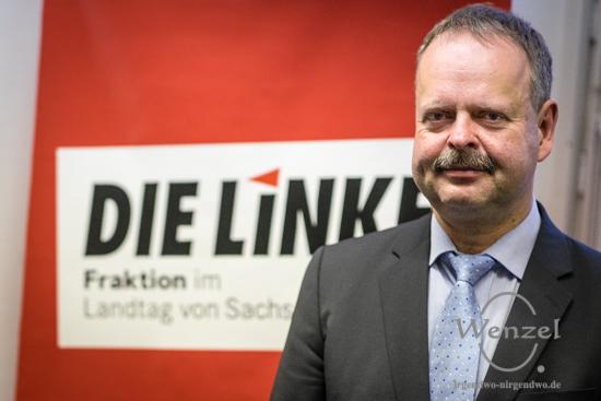 Wulf Gallert - Spitzenkandidat  Die Linke