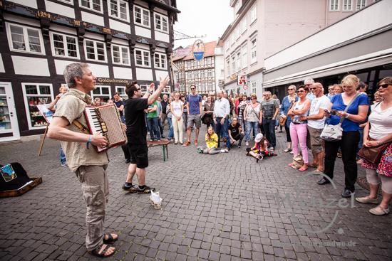 Royal Squeeze Box - buskers – Straßenmusikfestival Braunschweig