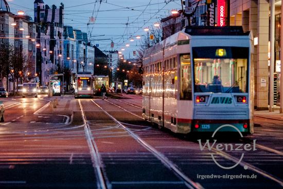 MVB rüstet Straßenbahnen mit neuen Zielanzeigen aus - Foto Wenzel-Oschington.de