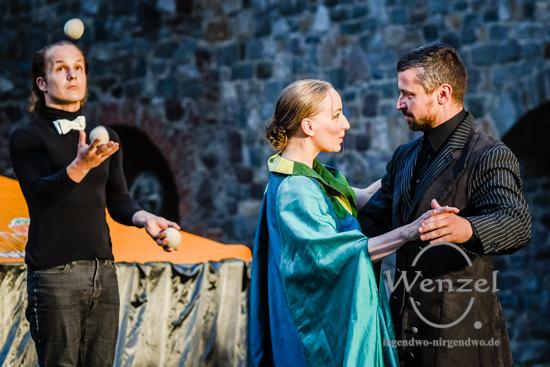Macbeth  oder Die Reinheit des Herzens –  Sommertheater der Compagnie Magdeburg 09 –  Foto Wenzel-Oschington.de