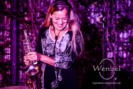 "Trixi G – ""So 'ne kleine Frau"" – Hommage an Tamara Danz – Volksbad Buckau –  Foto Wenzel-Oschington.de"