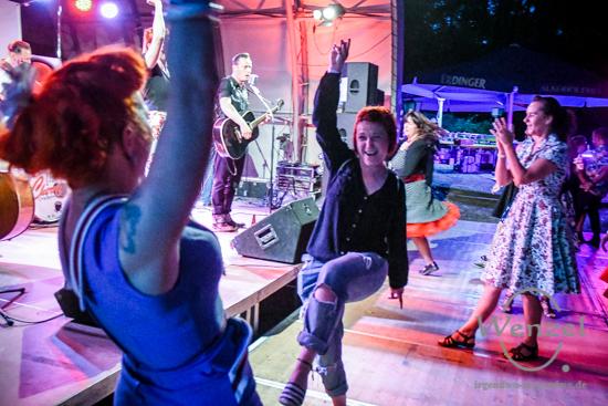 Rockhouse Summershelter, Rock`n`Roll, Heyrothsberger, Subkultur Magdeburg,  Paul Ansell, Manu Tanzratte –  Foto Wenzel-Oschington.de