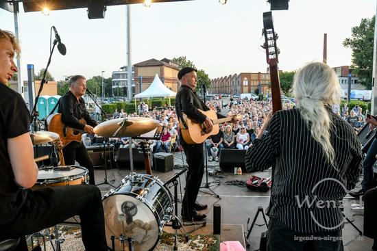 Rühmann & Rühmann & Band, Thomas Rühmann, Martin Rühmann, Wissenschaftshafen, Magdeburg, Hafenkonzert, Malabarista, Magdeburger Klinikclowns –  Foto Wenzel-Oschington.de