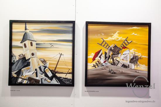 Michael Braune, Kunstmesse Mitteldeutschland, Turmpark Salbke, zeitgenössische Kunst, KUNST/MITTE, Magdeburg –  Foto Wenzel-Oschington.de