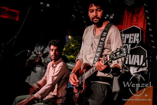 Imarhan - Tuareg-Sound aus Algerien - Reeperbahn Festival 2016 - Molotow –  Foto Wenzel-Oschington.de