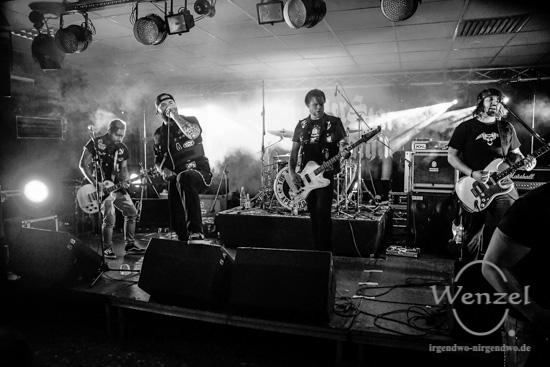 Lucifer Star Machine, Magdeburg, Studentenclub Baracke –  Foto Wenzel-Oschington.de