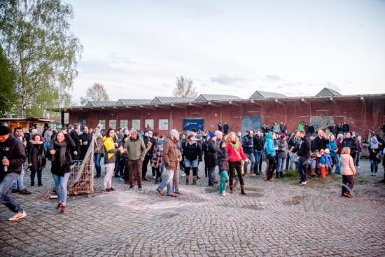 Magdeburg, Buckau, Werk 4, Osterfeuer, Ostern, Sebastian Noe, Noe  Future, Lost in Südost –  Foto Wenzel-Oschington.de