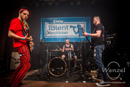 SWM, Talentverstärker, MusiCids, Magdeburg, Nachwuchskünstler, Turmpark, Salbke, Rockland, Heartdisco Music, The Aceholes –  Foto Wenzel-Oschington.de
