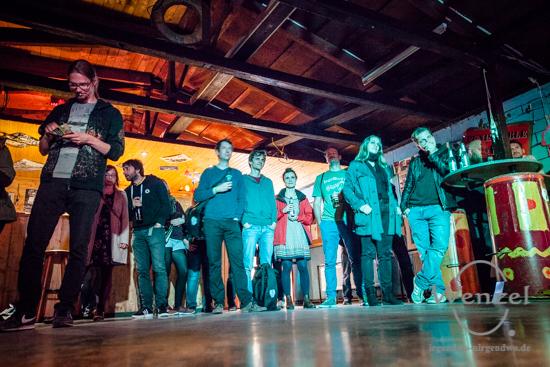 ECOC 2025, European Capitals of Culture, Kulturhauptstadt Magdeburg, Magdeburg 2025, Ottostadt, Kulturnacht, Anschlagen, 2017, KJH Knast, Webster, Deutschrock –  Foto Wenzel-Oschington.de