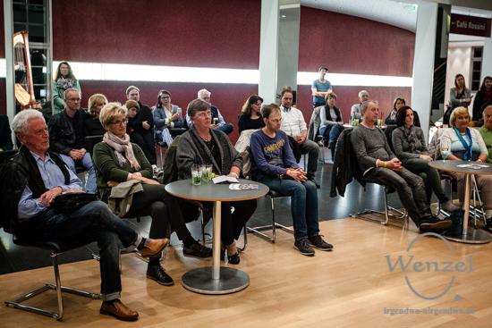 ECOC 2025, European Capitals of Culture, Kulturhauptstadt Magdeburg, Magdeburg 2025, Ottostadt, Kulturnacht, Anschlagen, 2017, Opernhaus, Kammermusik, Harfe, Flöte –  Foto Wenzel-Oschington.de