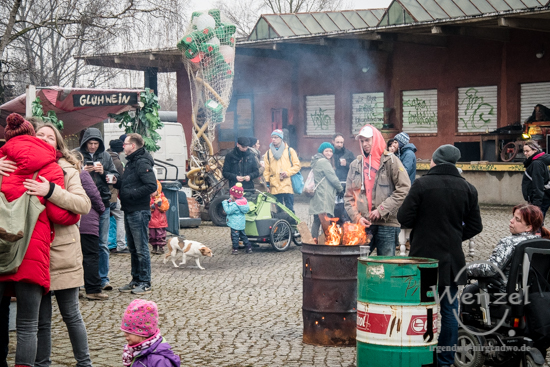 ECOC 2025, European Capitals of Culture, Kulturhauptstadt Magdeburg, Magdeburg, Magdeburg 2025, Ottostadt, Buckau, Werk4, Osterfeuer –  Foto Wenzel-Oschington.de