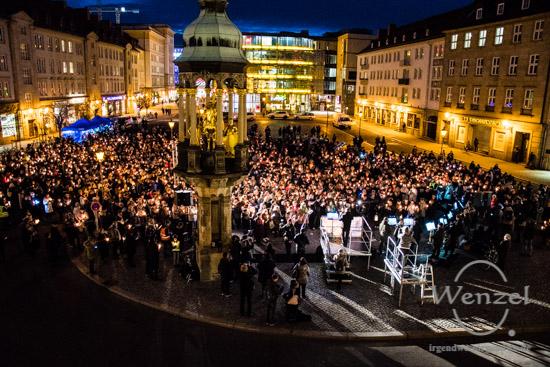 Magdeburg singt für eine weltoffene Stadt –  Foto Wenzel-Oschington.de