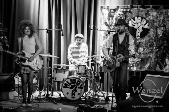 Muddy What? - Konzert Volksbad Buckau –  Foto Wenzel-Oschington.de