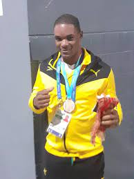 Ricardo Brown punches for Olympic glory