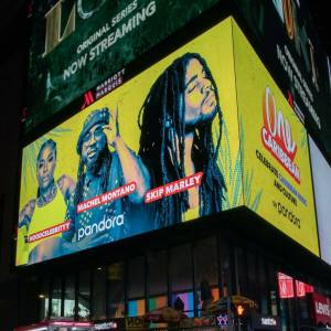 Hood Celebrityy, Machel Montano, and Skip Marley are the faces of Pandora's 'One Caribbean' station
